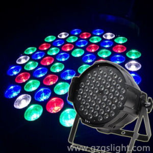 Hot Indoor Decoration LED Stage Lighting RGBW 54PCS*3W PAR Can Light