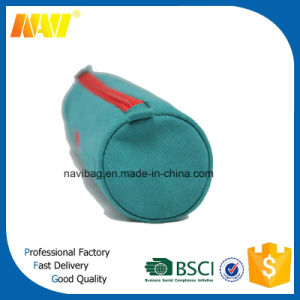 Fashion Round Shaped Canvas Pencil Bag pictures & photos