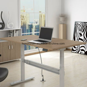 6840 Office Furniture Height Adjustable Workstation Computer Table Factory Price Desk pictures & photos