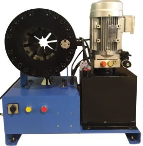 """Low Price Hydarulic Hose Crimping Machine/Crimper with Ce Certificate for Max 2"""" (3 wire/textile braids, 4SP) for Workshop/Maintenance (JK450A) pictures & photos"""
