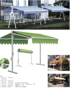High Quality of Awning with 5m Arm Extention of Awning /Big Size Folding Arm Awning pictures & photos