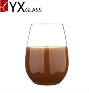 High-Borosilicate Heat Resistant Single Wall Glass Cup Stemless Wine Cup Milk Coffee Mug