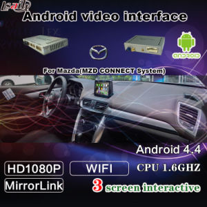 4-Core Android 5.1 Video Interface Android Navigation System for 14-17 Mazda pictures & photos