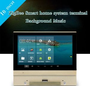 10 Inch Zigbee Smart Home Automation System Terminal Background Music pictures & photos