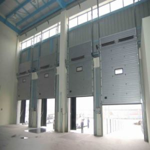 Automatic Aluminum Sliding Overhead Sectional Door pictures & photos