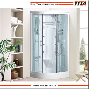 White Acrylic Back Shower Cabin Alps-a pictures & photos