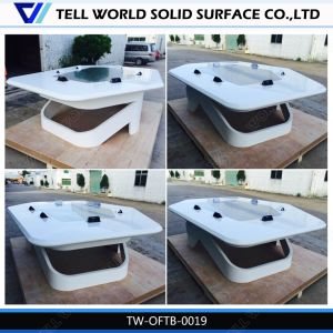 Artificial Marble Stone Office Furniture 12 Person Conference Table pictures & photos