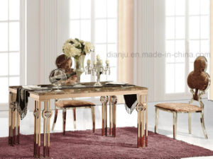 Rosegold Home Furniture Special Design Dining Table (A8021)