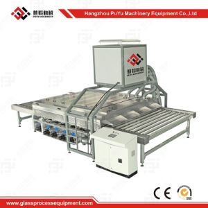 Horizontal Glass Washing and Drying Machine for Acrylic Glass pictures & photos