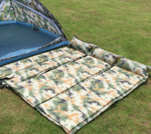 Outdoor Digital Camouflage Self Inflatable Mattress pictures & photos