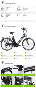 2016 Hot Sale Electric Urban Bike pictures & photos