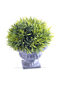 Artificial Topiary Rosemary in Paper Mache Urn for Outdoor/Indoor Decoration pictures & photos