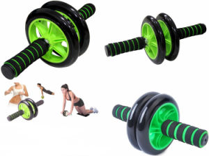 Home Using Two Wheel Ab Foam Roller Ab Wheel pictures & photos