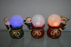 Xmas Candle Holder Craft Decoration Gift pictures & photos