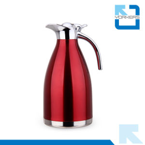 Poplular Stainless Steel Coffee Pot and Vacuum Kettle with Plastic Lid pictures & photos