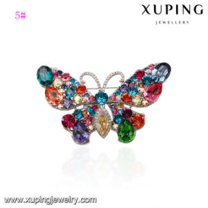 00064 Fashion CZ Big Butterfly Crystals From Swarovski Jewelry Wedding Brooch pictures & photos
