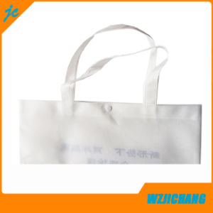 Eco-Frindely Non Woven Shopping Bag Having Plastic Fastener pictures & photos