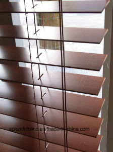 50mm High Profile Wood Blinds (SGD-W-515) pictures & photos