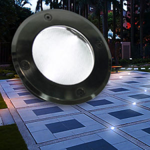 Mini Waterproof Solar LED Underground Light 6W IP68 Ce&RoHS pictures & photos