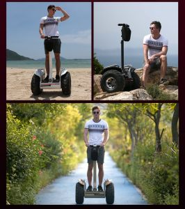 Big 19 Inch off Road Self Balanced Electric Skateboard Intelligent Golf Car pictures & photos
