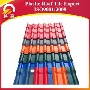 Synthetic Resin Roofing Sheet /ASA Spanish Roofing Tile /ASA PVC Plastic Roof Materials pictures & photos