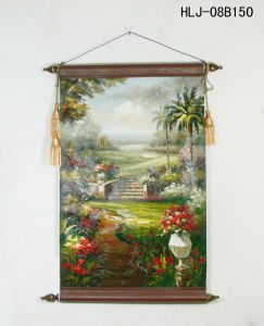 Tropical Garden Pattern Home Decorative Canvas Hanging Paintings