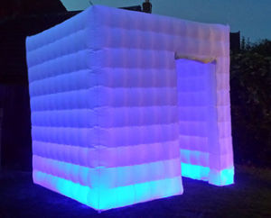 Hot Sell Inflatable LED Lighting Photo Booth for Sale pictures & photos