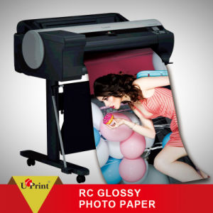 Wholesale Waterproof A4 130GSM Cast Coated RC Photo Paper pictures & photos