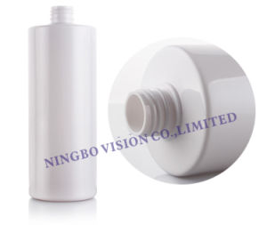 500ml Round Cylinder Cosmetic Industrial Pet Plastic Liquid Soap Shampoo Bottle pictures & photos