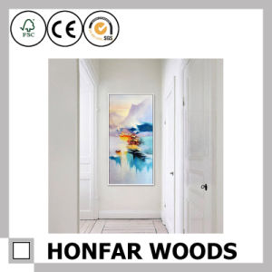 Black Solid Wood Painting Poster Frame for Hotel Hall Decoration pictures & photos
