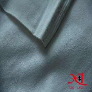 Pure White Textile Four Way Stretch Suede Fabric for Garment pictures & photos