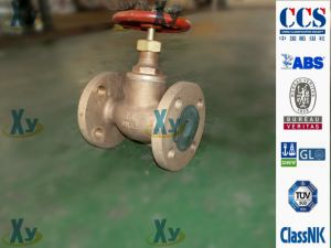 Marine Bronze Globe Sdnr Check Valve JIS F7409 F7410 16k pictures & photos