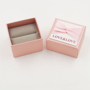 Delicate Luxury Cardboard Paper Box with Ribbon Bow (J82-A1) pictures & photos