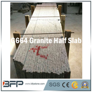 Pink Popular Chinese Granite Half Slab Hot-Sale Exported Package pictures & photos
