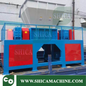 Dual Shaft Shredder for Wood and Tyre pictures & photos