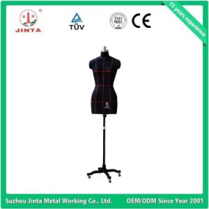 Black Half Body Tailoring Mannequin with Rolling Base pictures & photos