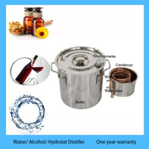 2gal DIY Home Moonshine Stainless Steel Distiller Alcohol Distillation Equipment pictures & photos