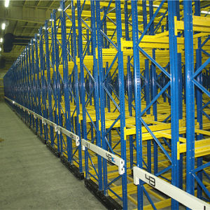 Warehouse Movable Rack for Pallet Storage pictures & photos