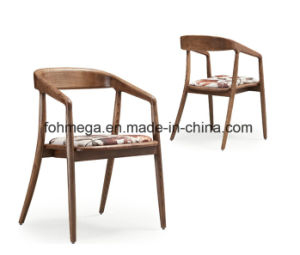 Qatar Market Wooden Hotel Chair for Dining (FOH-17R3) pictures & photos