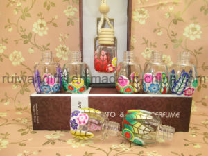 Perfume Glass Bottels for Hanging Air Freshener,  Car Fresheners Wood pictures & photos
