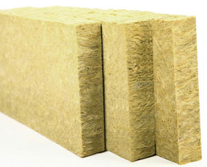 China fire proof and heat insulation rock wool board for Rocks all insulation