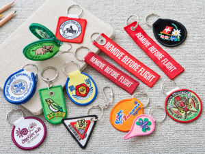 Embroidered Keyholders pictures & photos