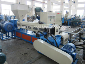 Water-Cooling Type Double-Stage PP/PE/Pet Plastic Recycling Machine pictures & photos