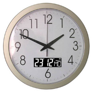 Radio Controlled Wall Clock (KV1510D)