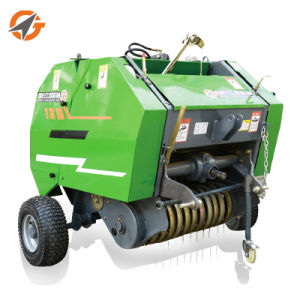 Agriculture Tractor Walking Mini Round Hay Baler for Sale pictures & photos