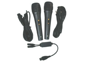 Karaoke Microphone WII013 for Wii (Video Game Accessories)