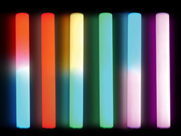 Dia 50 D Shape LED Hurdle Tube