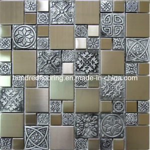 Silver Stainless Steel Metal Mosaic Wall Tile (SM202) pictures & photos