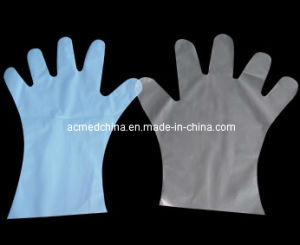 Disposable TPE Gloves pictures & photos
