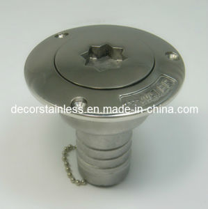 Stainless Steel Deck Filler Boat Hardware pictures & photos
